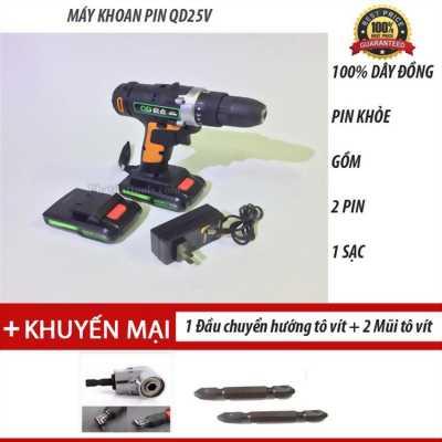 Chuyên phân phối các loại máy khoan pin Qd25v Trung Quốc