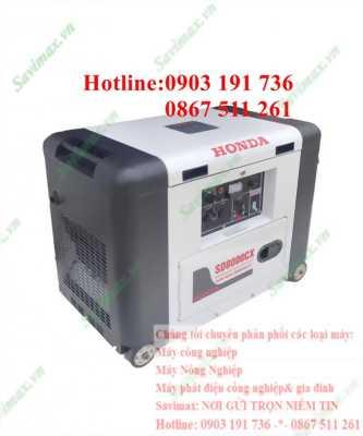 Chuyên phân phối máy phát điện gia đình và công nghiệp- Máy phát điện Honda SD8000CX chính hãng