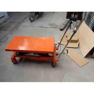 Xe nâng mặt bàn 150kg cao 1m, 72cm LH 0988081327