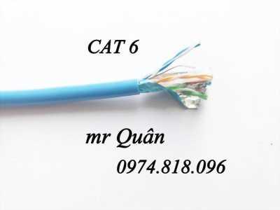 Dây cáp mạng cat5, cat6 giá rẻ - hàng có sẵn toàn quốc