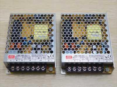 Meanwell LRS-35-24, LRS-50-24, LRS-100-24, LRS-150-24