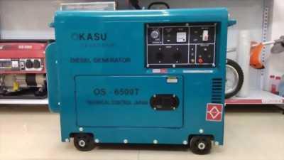 Cung cấp máy phát điện chạy dầu OKASU OS-6500T, Điện Biên.