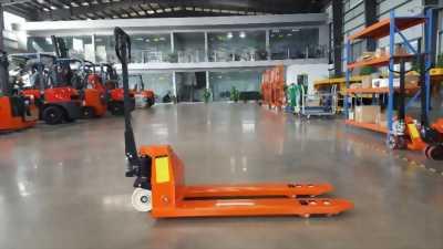 Xe nâng tay thấp 2 tấn giá rẻ, xe nâng tay Meidtek 2000 kg