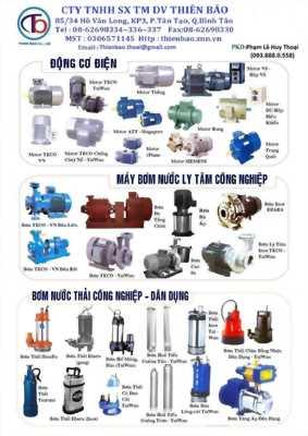 Thiên Bảo chuyên cung cấp motor máy bơm nước các loại