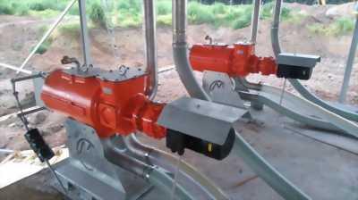 Máy tách phân xử lý phân heo phân bò