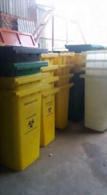 Thùng rác 90 lít, thùng rác nhựa Composite