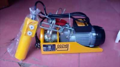 Motor tời kéo mini 1 pha/220V