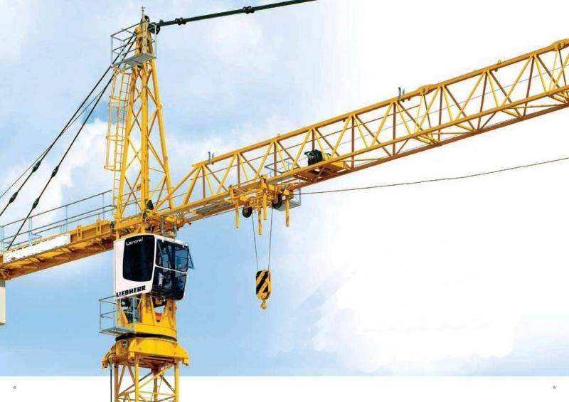 Cho thuê tháp cẩu POTAIN MCI80A do Pháp sản xuất