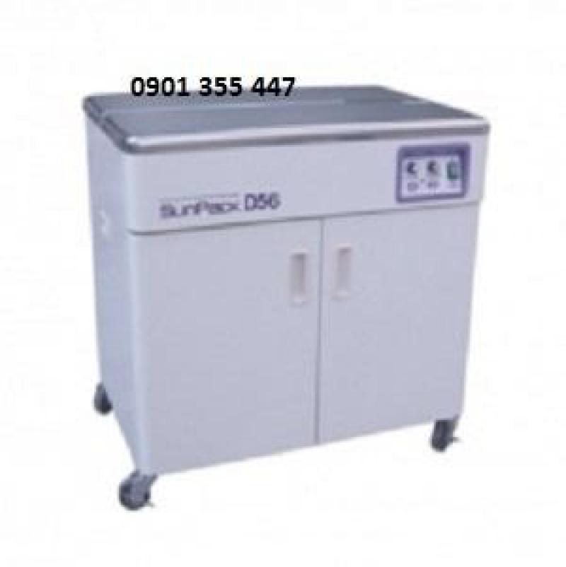 Máy dùng để đai sản phẩm nằm trên pallet model SP-3N chính hãng Wellpack