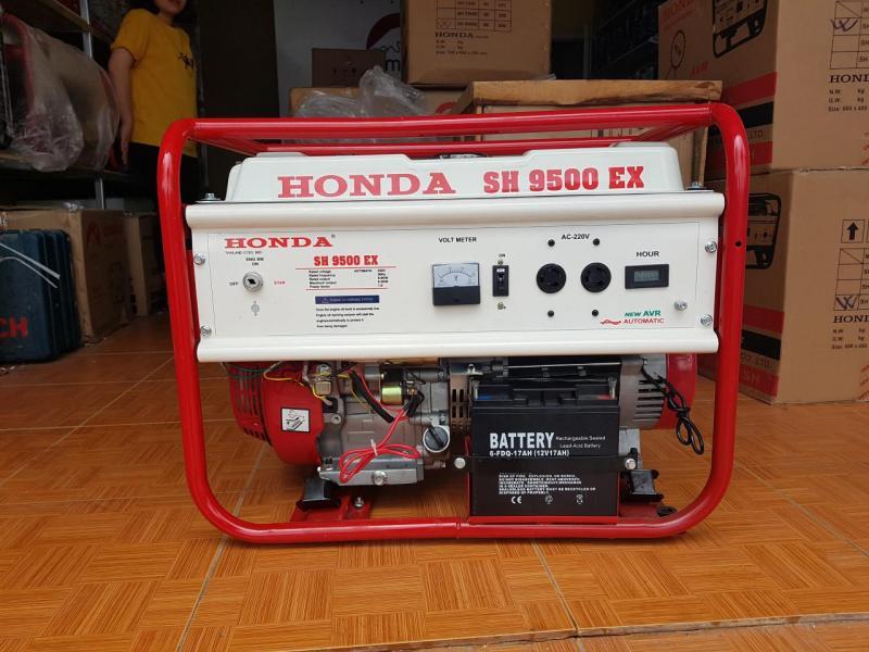 Máy phát điện chạy xăng SH 9500ex-le tự động