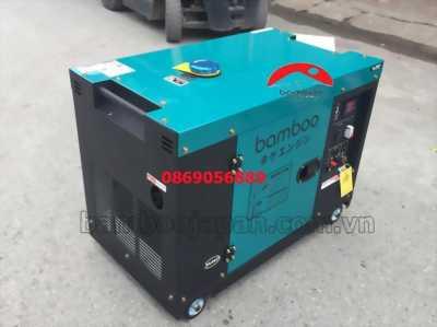 Máy phát điện bamboo chạy dầu BMB 7800ET 6kw/8kva