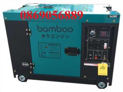 Máy phát điện chạy dầu Bamboo BMB 8800ET 7kw, chống ồn
