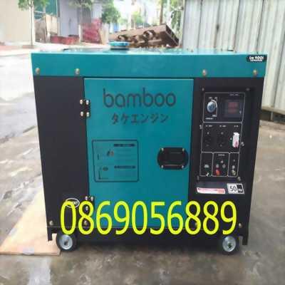 Máy phát điện bamboo 7KW, có tủ ATS BMB 8800EAT-S