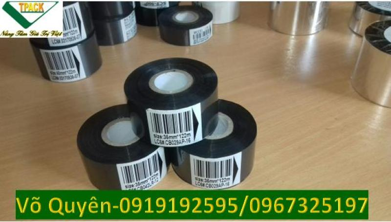 Ruy băng in date,cuộn phim in ngày, in hạn sử dụng trên các loại bao bì