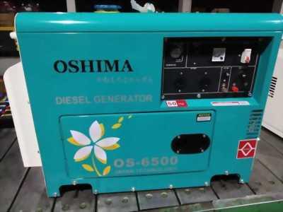 Máy phát điện chạy dầu Oshima OS6500 ( 5kva) rẻ nhất thị trường