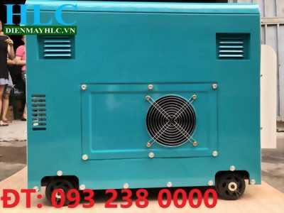 Máy phát điện chay dầu Tomikama HLC 6500 uy tín nhất hiện nay