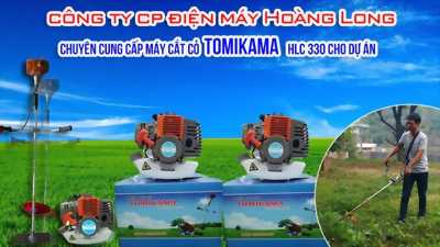 Máy cắt cỏ cầm tay tomikama HLC 330
