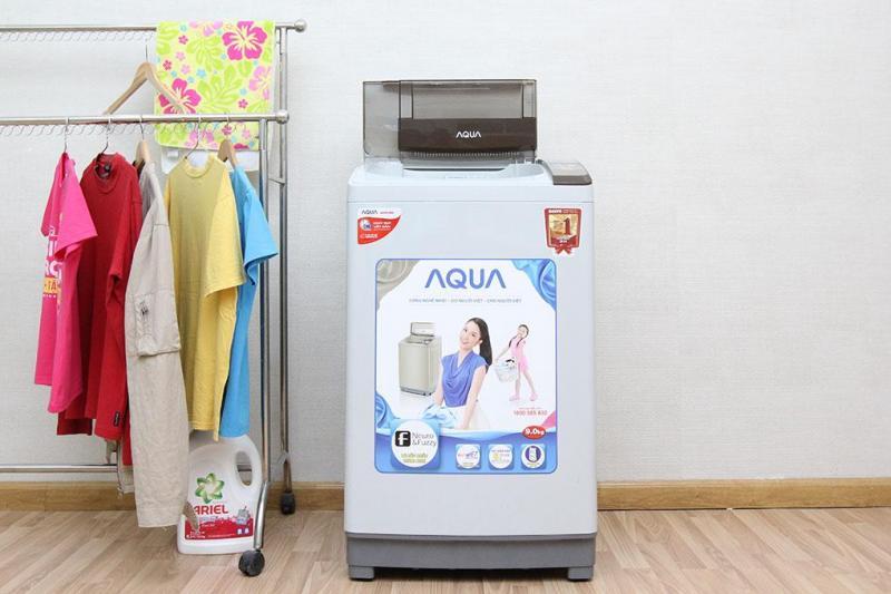 Máy giặt Aqua 9kg giá bao nhiêu - 3 chiếc máy giặt bán chạy nhất