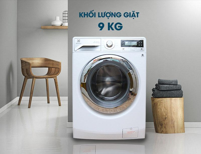 Cách sửa dụng máy giặt Electrolux 9kg hiệu quả
