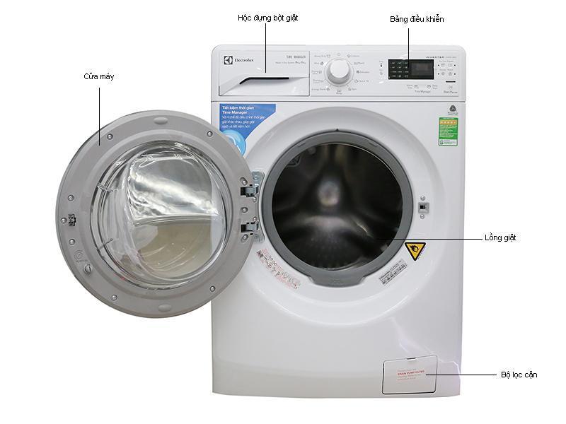 Cách sử dụng máy giặt electrolux 8kg chi tiết nhất