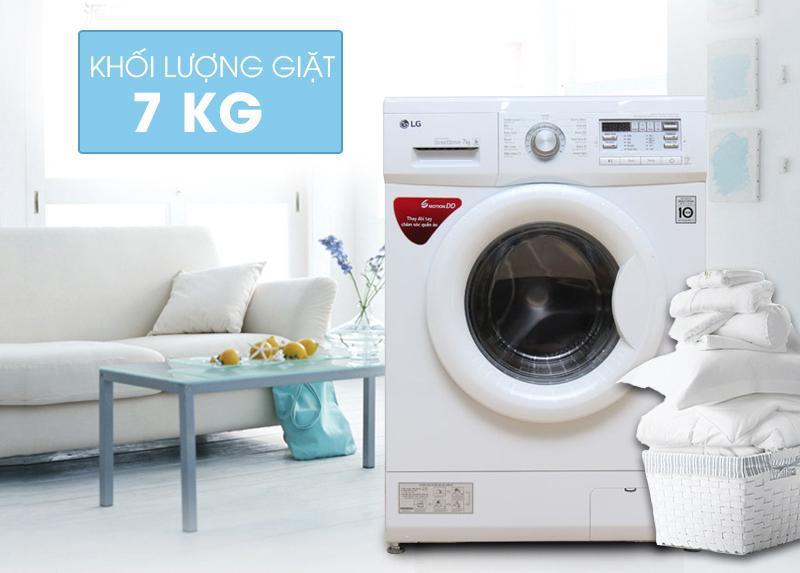Giá máy giặt LG 7kg cửa ngang bao nhiêu