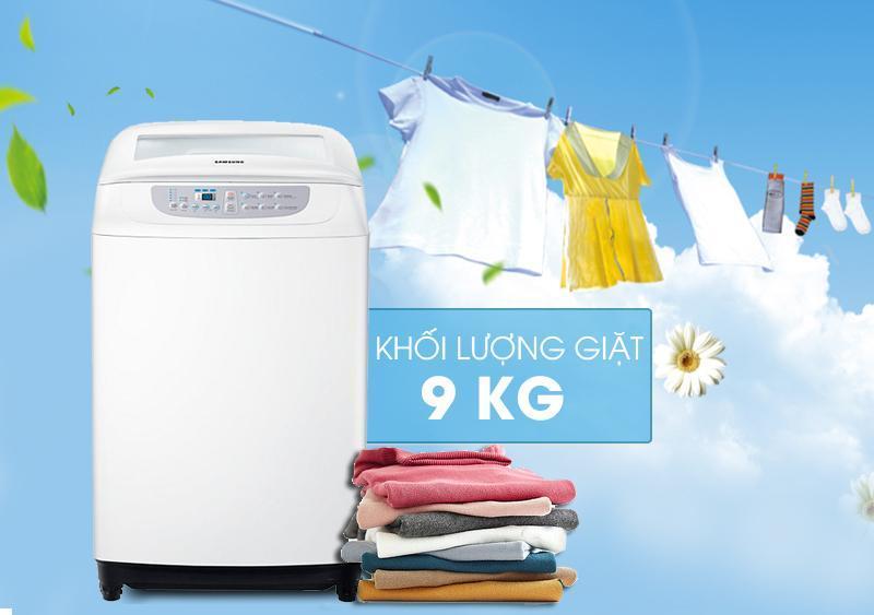 Máy giặt samsung 9kg giá bao nhiêu? Có nên mua không?