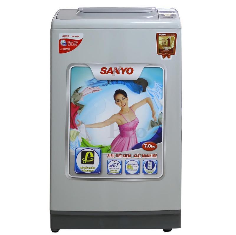Cách sử dụng máy giặt sanyo cửa đứng đúng cách nhất