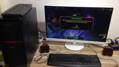 Trọn Bộ Gaming…Màn 20in/Gigabye/Ram4G/Vga2GD5/Wifi