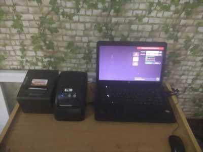 Lắp đặt máy tính tiền cho quán trà sữa tại Hải Phòng