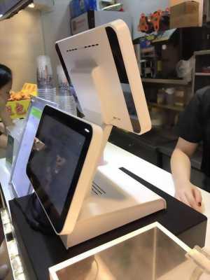 Máy tính tiền cảm ứng 2 màn hình giá rẻ cho quán trà sữa