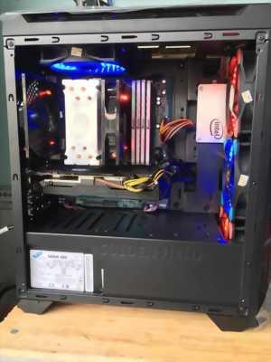 Thùng PC gaming i7 8700k ram 8gb vga 1060ti