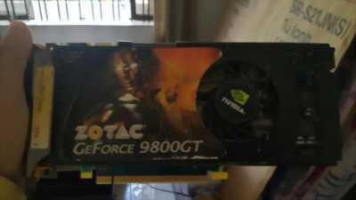 Thanh lý Card VGA ZOTAC 98000GT 512M Green Edition