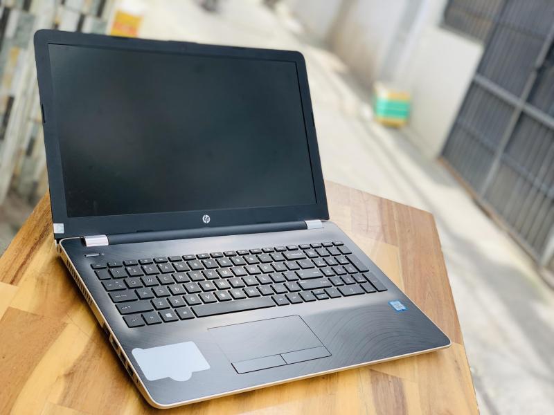Laptop Hp 15 - bs161tu, I5 8250U 8G SSD128 Full HD Màu Gold Đẹp zin 100% Giá rẻ