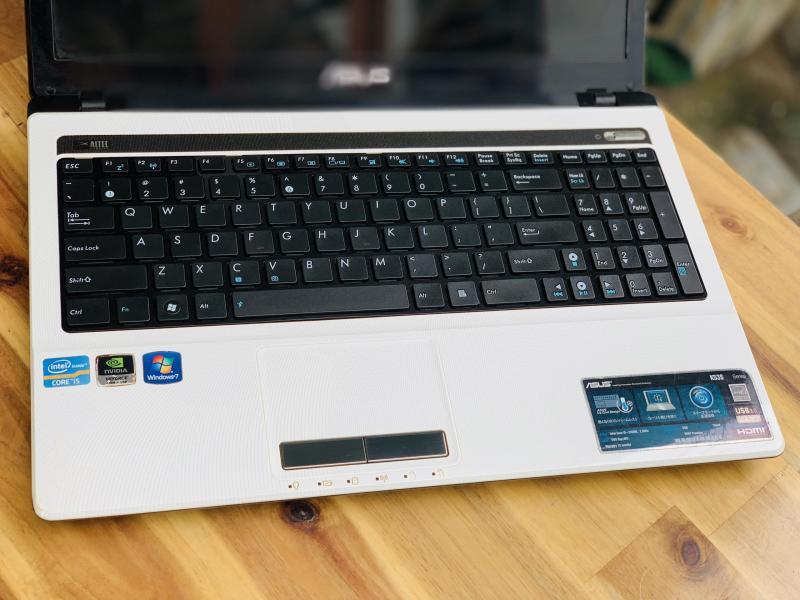 Laptop Asus K53SD, i5 2450M 4G 500G Vga rời 2G đẹp zin 100% Giá rẻ