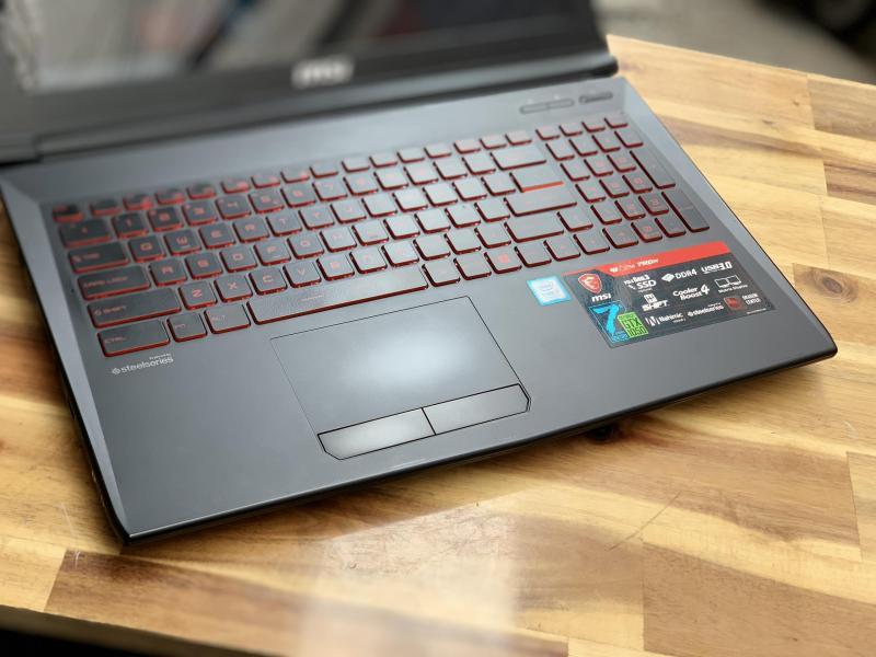 Laptop Gaming MSI GL62M 7RDX, i7 7700HQ 8G SSD128+1T Full HD GTX1050M 4G còn BH 10/2019