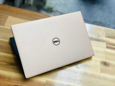 Laptop Dell XPS 13 9360, I7 8550U 16G SSD256 QHD Cảm ứng Màu GOLD Đèn phím Đẹp zin 100% Giá rẻ
