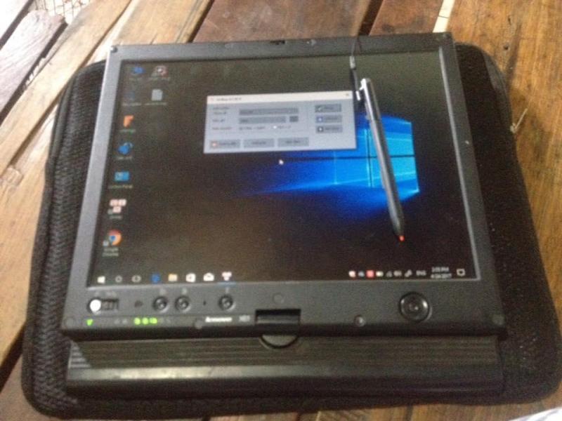 Thinkpad tablet x61 cảm ứng tay và bút