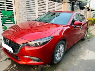 Kẹt tiền cần bán gấp Mazda3 2017 đk 2018, số tự động, màu đỏ