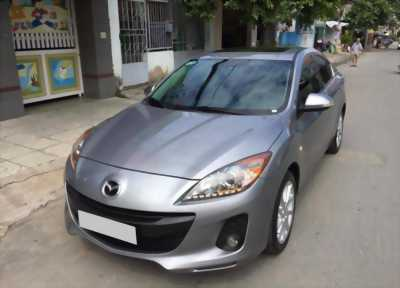 Nhà mình đổi xe cần bán chiếc Mazda 3 đời 2015, màu bạc với giá rẻ bèo