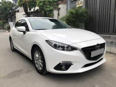 Mình Bán Mazda 3 tự động 2018 màu trắng bản full