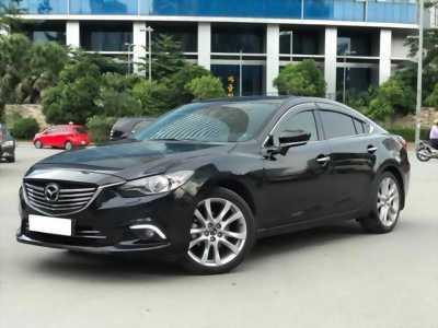 Cần bán xe Mazda6 sản xuất 2014, số tự động, máy xăng, màu đen