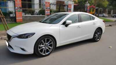 Cần tiền gấp bán xe Mazda 6 trắng ngọc trinh
