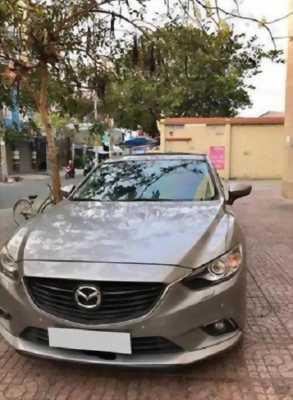 Bán em Mazda 6 đời 2017, số tự động, màu bạc sang chảnh.