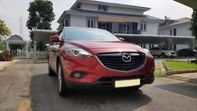 Bán Mazda Cx9 2015 tự động màu Đỏ xe đi ít giữ gìn.