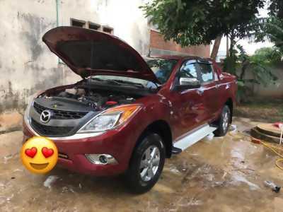 Đổi xe mới cần bán BT50, sản xuất 2014, số sàn, máy dầu, màu đỏ