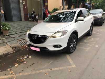 Bán gấp Mazda Cx9 2013, số tự động, bản full, trắng tinh khôi.
