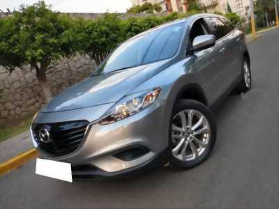 Gia đình cần bán xe Mazda Cx9, 2015, số tự động, bản full, màu bạc