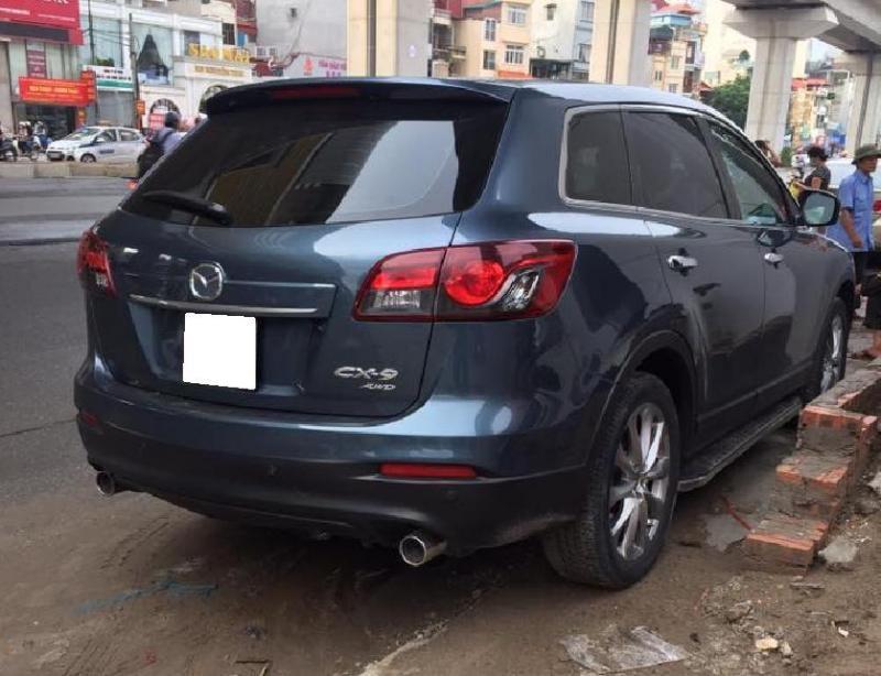 Bán gấp Mazda Cx9 2015, nhập nhật, số tự động, bản full, màu xanh đá.