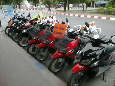 Cho thuê xe máy, xe moto giá rẻ ở TP Quy Nhơn