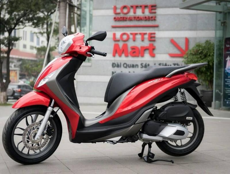 Medley ABS Sporty đỏ